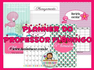 caderno de planejamento, Planner para professores