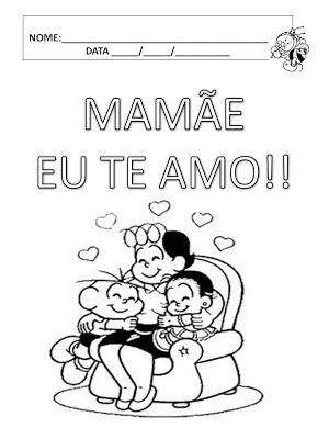 Atividades dia das mães - alfabetização