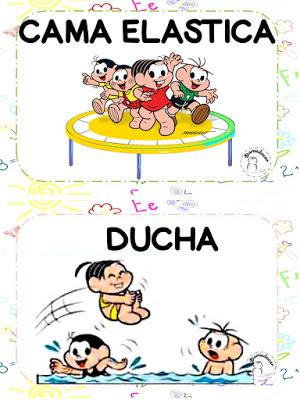 Rotina educação infantil, rotina, Danieducar, turma da monica,